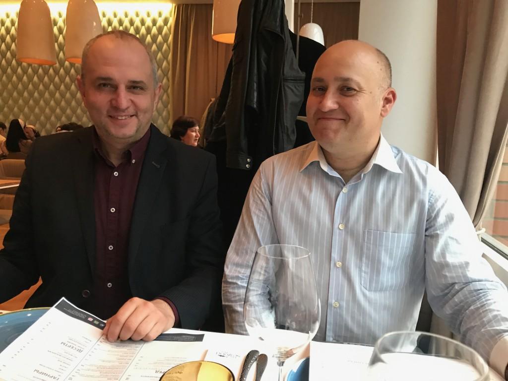Член Столыпин Клуба Вадим Игнатов и Секретарь Клуба Сергей Коннов (справа) на общем собрании