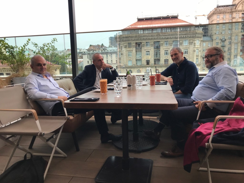 Старшие Члены Столыпин Клуба за обедом